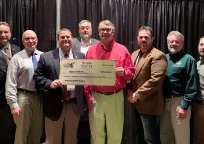NWTF Donates Almost $168,000 for Wildlife Management
