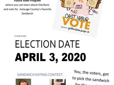 Pickled Pig Ear Sandwich Anyone? Autauga's Future Voter Page Asking for Video Votes; Contest to be Live on Facebook April 3
