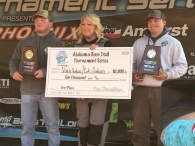 Brothers from Billingsley Bring Home Historic Win during Alabama Bass Trail Tournament
