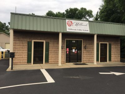 Millbrook Utilities Business Office Closed to Public for Safety Concerns; Options Offered for Paying Water, Sewer Bill
