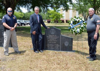 Prattville Officials Pay Honor this Afternoon on Peace Officers Memorial Day