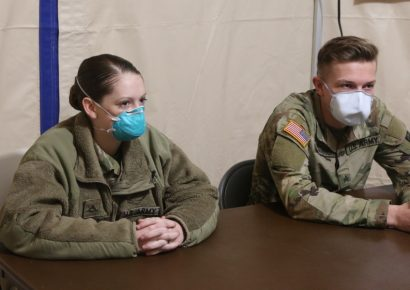 Dual Military Couple Serves Together During COVID-19