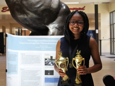 Stanhope Elmore Student Competes in National Science Competition