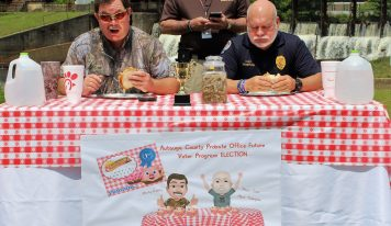 Prattville Police Chief Wins Contest by Half a Pickled Pig's Ear Sandwich