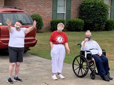 Smith Center Clients Get Special Parade