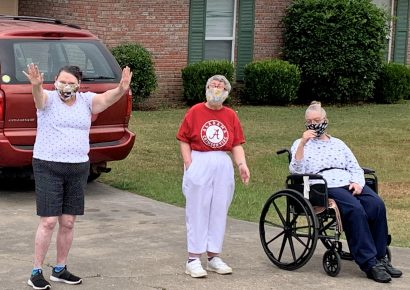 Smith Center Clients Get Special Parade