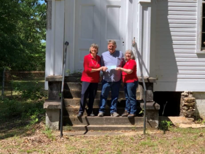 Old Autauga Historical Society Receives $500 donation from the Atagi Chapter, National Society of the Daughters of the American Revolution