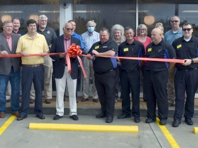 Finally! Waffle House opens in Millbrook with Ribbon Cutting, Celebration, Crowd