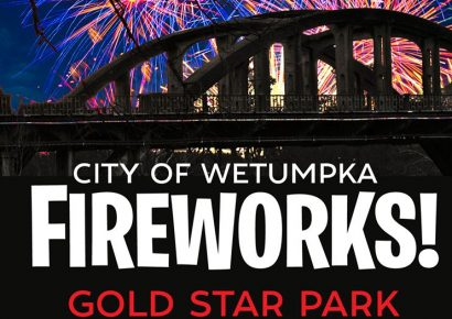 Celebrate A Day Early! Wetumpka to Host Fireworks Display from Gold Star Park Tonight