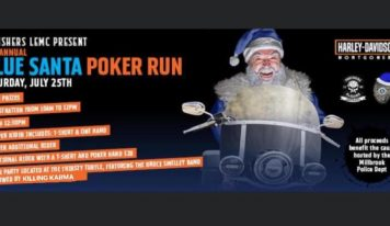 'Blue Santa Poker Run' is July 25; Proceeds Benefit the Millbrook Police 'Operation Blue Santa' to Provide Christmas Presents to Kids
