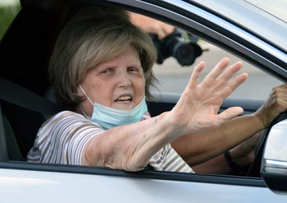 After Three Long Months of COVID-19 Battle, Evelyn Cook Gets To Come Home to Big Welcome in Autauga County
