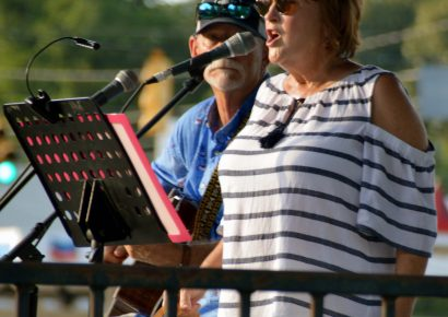 Tunes on the Green: Kay and Tommy Peters Rocked the Park Thursday; Next up is Trey Gothard July 16