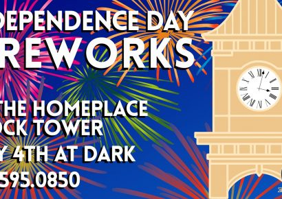 Prattville Will Put on a Show at Homeplace Clock Tower July 4; Location Changed to Help with Social Distancing