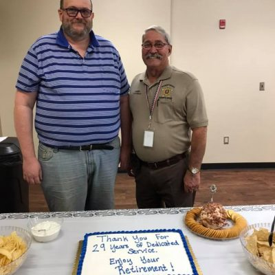Correction Deputy Keith Dennis Retires After 29 Years with Autauga County Sheriff's Office