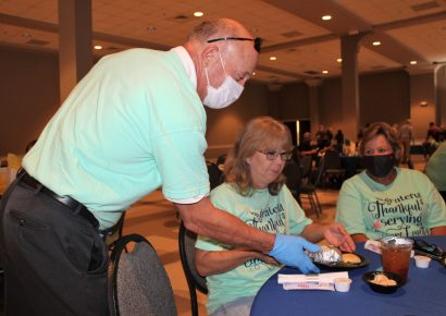Serving Those Who Serve: Elmore County Lunch Volunteers Honored with Special Meal