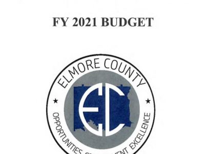 Elmore County Commission Adopts $31 Million Dollar Budget for Fiscal Year 2021