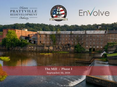 Phase 1 of 'The Mill' Project Released; Work to Redevelop Daniel Pratt Gin Company to Begin in September