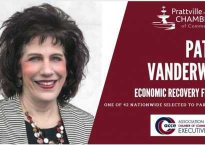Patty VanderWal, President of Prattville Chamber, Selected for Economic Recovery Fellowship
