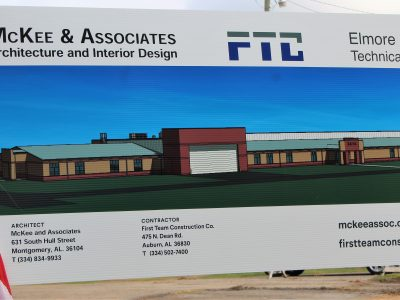 Groundbreaking Held at Elmore County Technical Center on $7.5 Million Expansion
