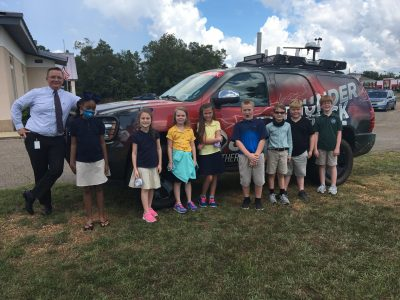 Victory Christian Academy Receives Visit from Meteorologist as Students Learn about Weather Science