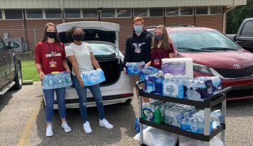 Big Thank you to SEHS Jr. Civitans for Hurricane Relief Donation; Donation Drive is Saturday at EAN Office