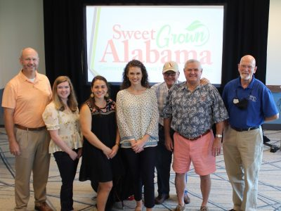 Alabama Association of RC&D Councils Recognized for MultyYear Partnership with Sweet Grown Alabama