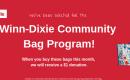 HSEC Will Benefit from September Community Bag Program at Wetumpka Winn Dixie