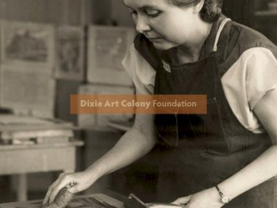 DAC Foundation Receives Large Donation:  Entire Contents of the Studio of DAC Artist Doris Alexander Thompson