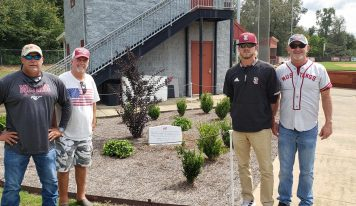 First SEHS Baseball Coach Mickey McCullough Honored with Monument at Baseball Field; Full Ceremony Will be Announced