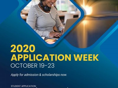 CACC 2020 Application Week is Oct. 19-23; Apply for Admission and/or Financial Aid/Scholarships