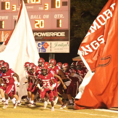 Strong Rushing Attack Leads Mustang Offense in 3rd Straight Win Over Wetumpka 23-13