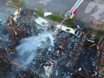 Community, Organizations Scrambling to Offer Assistance, Donations for 26 families Who Lost Everything in the Woods Apartment Fire