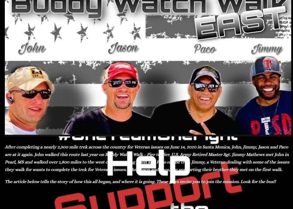 Buddy Watch Walk Meet and Greet Monday at American Legion Post 133 in Millbrook