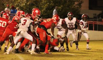 DJ McGhee Scores 3 Touchdowns in Mustangs' 1st Round Playoff Loss at Eufaula