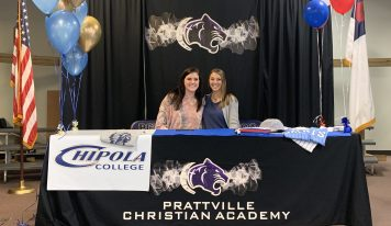 PCA's Landyn McAnnally, Riley Sweeney Sign Softball Scholarships with Powerhouse JUCO Programs