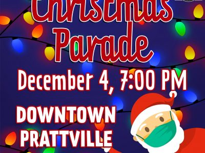 City of Prattville to Host Annual Parade Dec. 4 at 7 p.m. in Historic Downtown