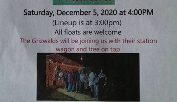 Holtville/Slapout Christmas Parade Will Roll This Evening at 4 p.m.; Everyone invited