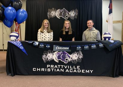PCA's Victoria Wheeler to Continue Volleyball Career with Faulkner University Eagles