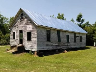 Work to Save Old Mulberry Schoolhouse at Mallards Chapel Continuing Soon; Volunteers Appreciated