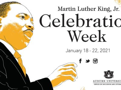 Auburn University's Martin Luther King Jr. Celebration Week Highlighted by Virtual Events, Community Service Drive