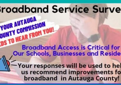 Autauga Residents Asked to Take Survey Concerning Broadband Access