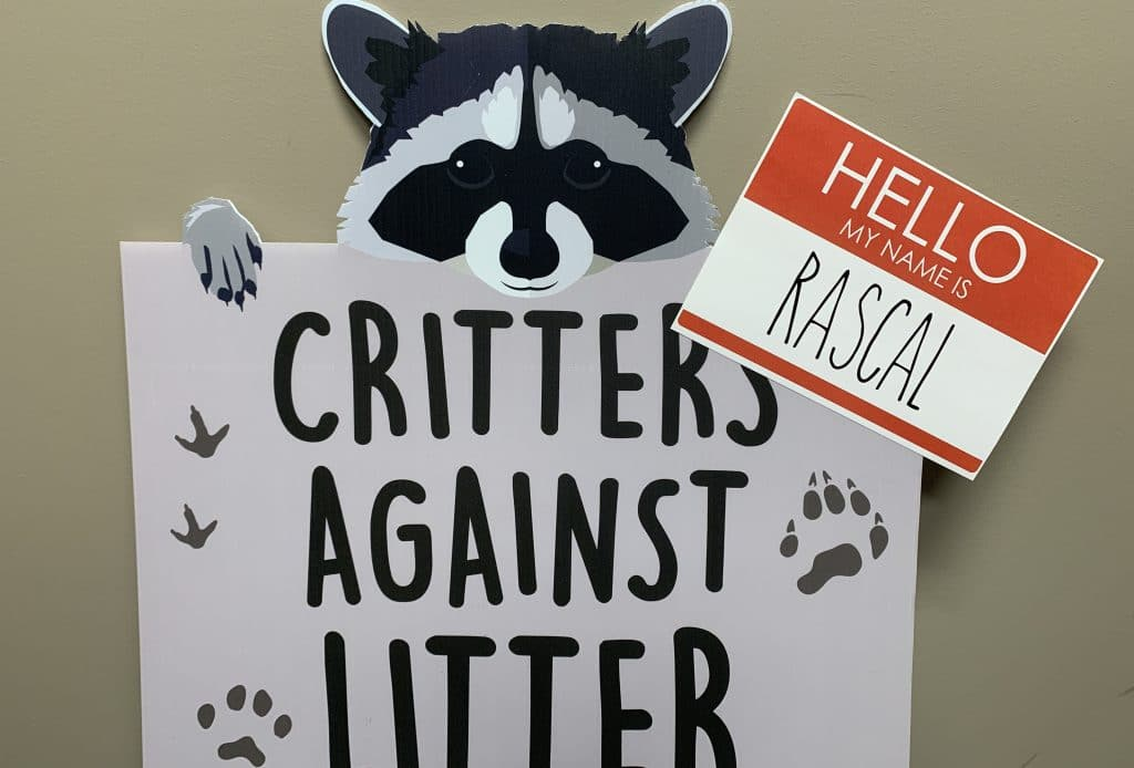 Elmore County Commission: Meet Eclectic Elementary's Anti-Litter Critter Rascal