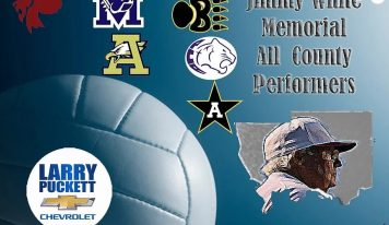 The Jimmy White Memorial All County Volleyball Performers Announced for Autauga County
