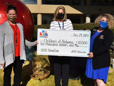 The MAX4Kids Foundation surpasses $100,000 in donations to Children's of Alabama