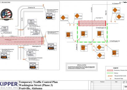 See Closure Updates for Washington Street in Prattville