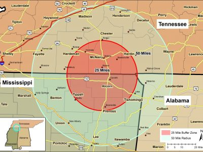 CWD Detected in Two Additional Northeast Mississippi Counties