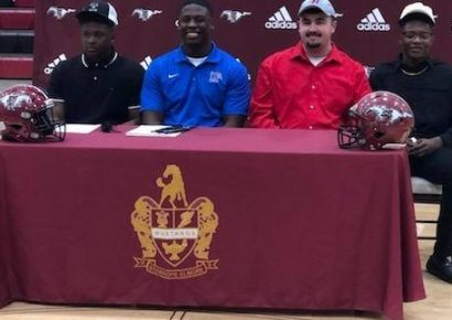 Stanhope Elmore High sends quartet of Mustangs to College on Scholarships