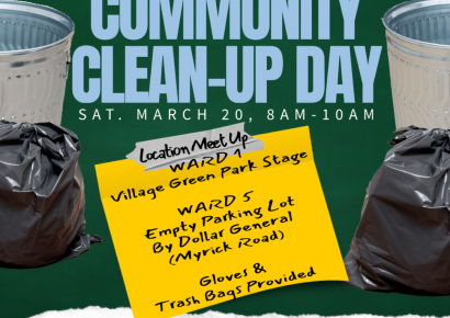 Millbrook Community Clean-Up Day Coming March 20; Hosted by Ward 1, Ward 5 Council Members