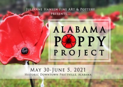 The Alabama Poppy Project Coming back to Downtown Prattville May 30-June 5 This year