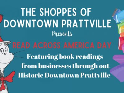 Read Across America events scheduled by Shoppes of Downtown Prattville